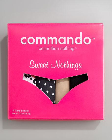 Sweet Nothings Thong Sampler