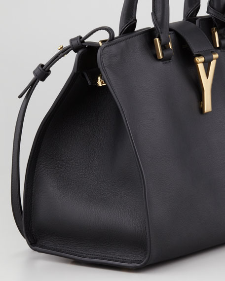 Mini Cabas ChYc Bag, Black