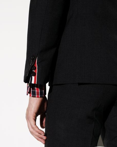 120s Wool Jacket, Charcoal
