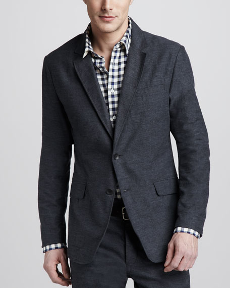 Phillips Herringbone Blazer