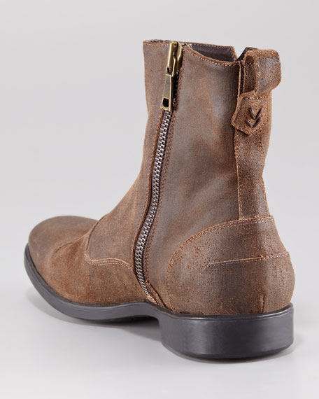 Ago Rubberized Zip Boot