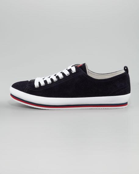 Suede Sneaker, Navy