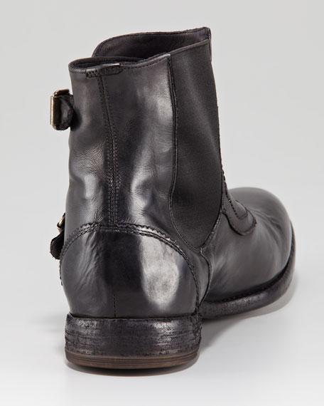 Monk-Strap Boot, Black