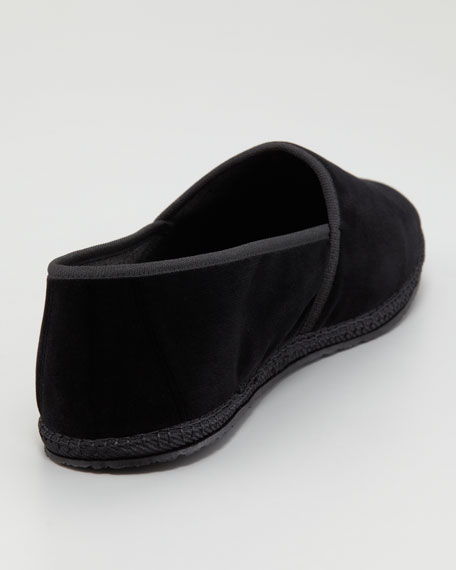 Adone Velour Slipper