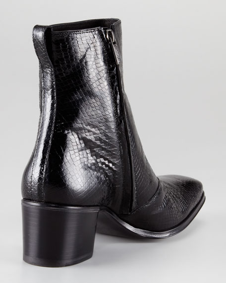 Jonny Python-Embossed Boot