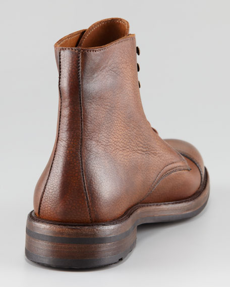 Macomb Cap-Toe Lace-Up Boot