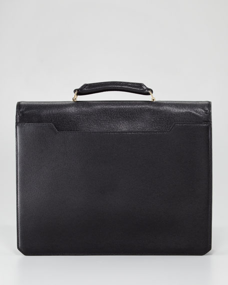 Gusset Flap Briefcase