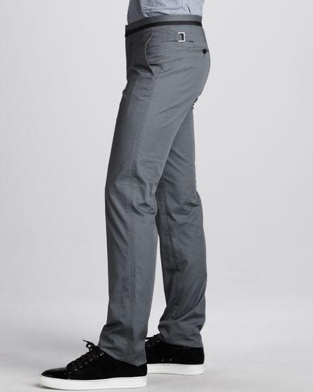 Grosgrain-Waist Pants