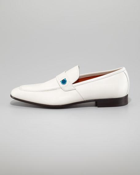 Tribune Gancini Loafer, Ivory
