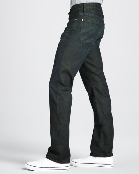 Slimmy Leaf Tinted Indigo Jeans