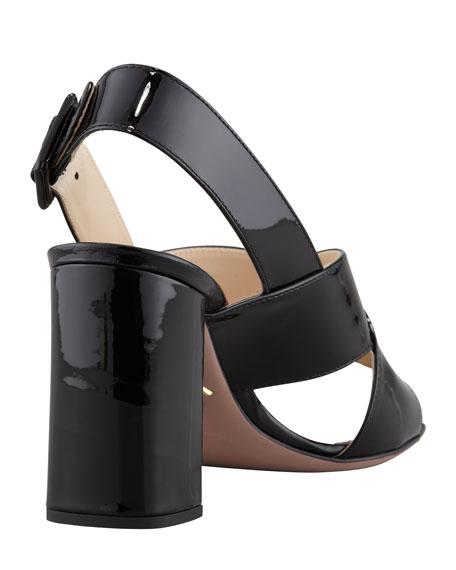 Vernice Crisscross Slingback Sandal