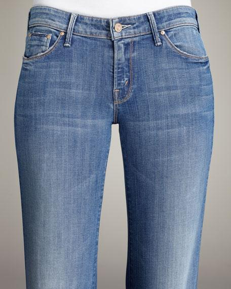 The Wilder Med Kitty Bell-Bottom Trouser Jeans