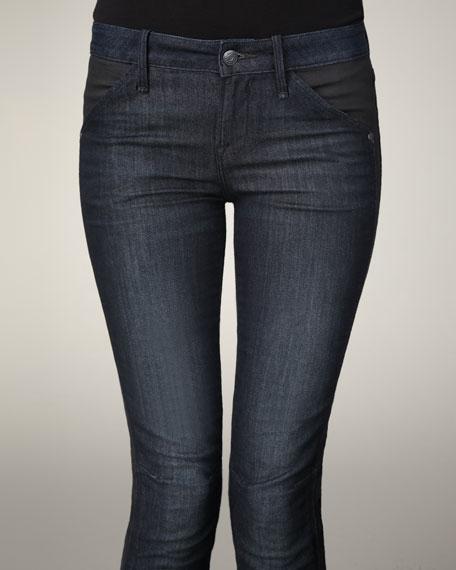 Seamed Skinny Jeans