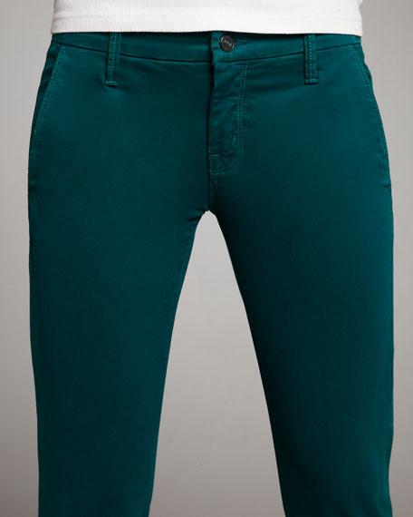 The Looker Skinny Twill Pants, Jade