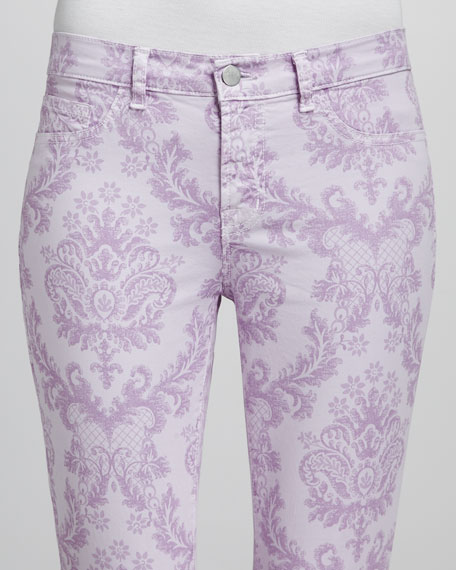 Printed Slim Pants