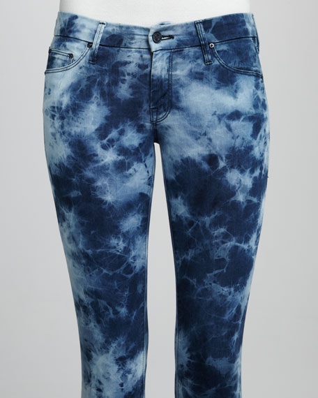 The Looker Rebel Silk Light Tie-Dye Jeans