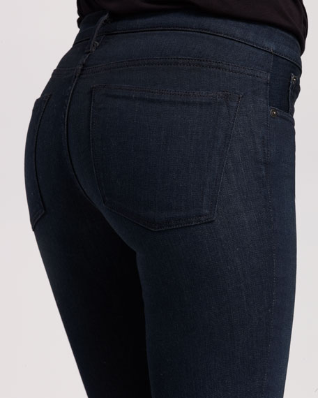 Green Indigo Skinny Jeans