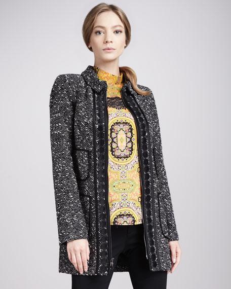 Aristocrat Tweed Coat