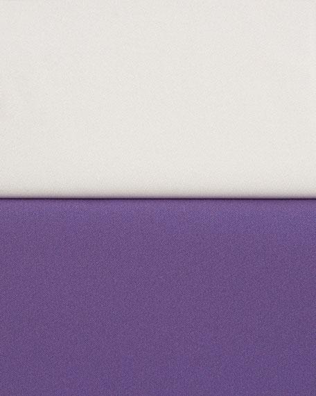 Gemma Half-Sleeve Silk Blouse