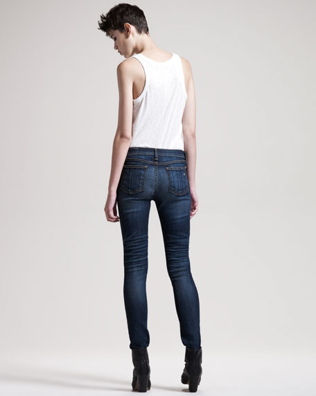 Ripped Skinny Hampstead Jeans