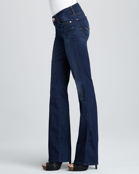 Kimmie Sophisticated Sir Squiggle-Pocket Boot-Cut Jeans
