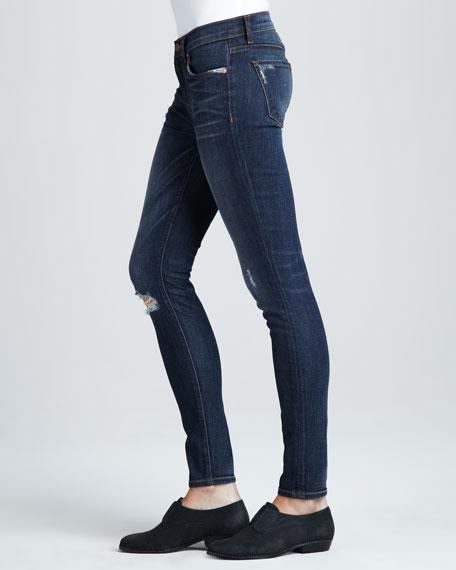 811 Salem Distressed Skinny Jeans