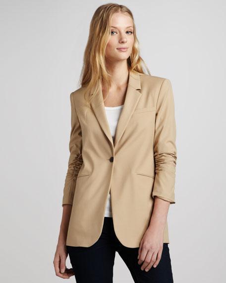 Heather Ruch-Sleeve Blazer