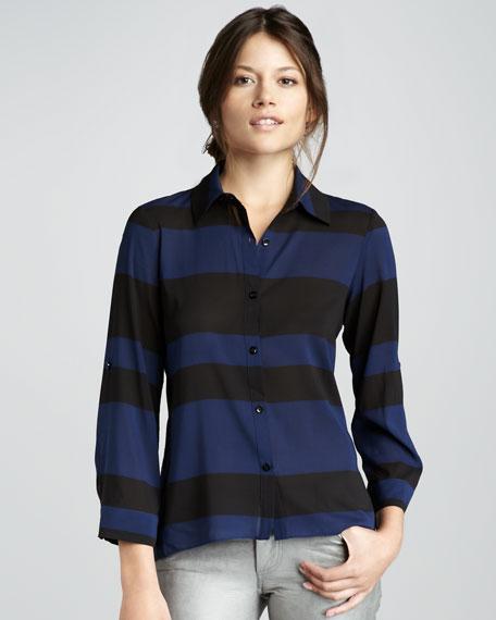 Beau Striped Flare Shirt