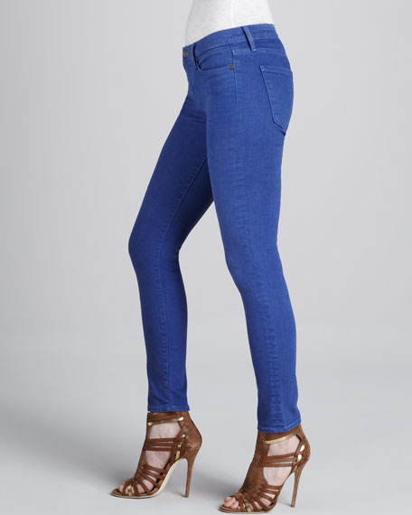 Skinny Ankle Jeans, Pacific