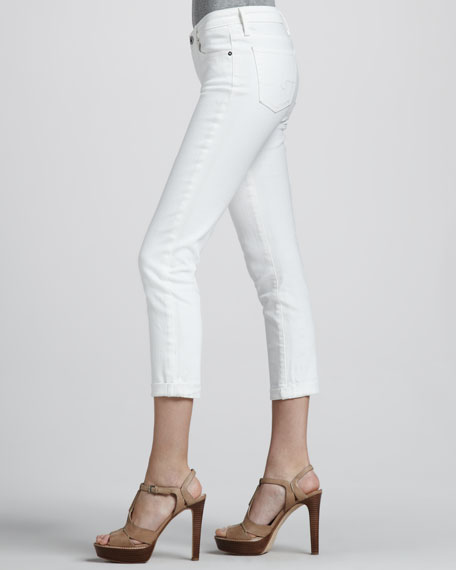 Stilt Cropped Denim Pants