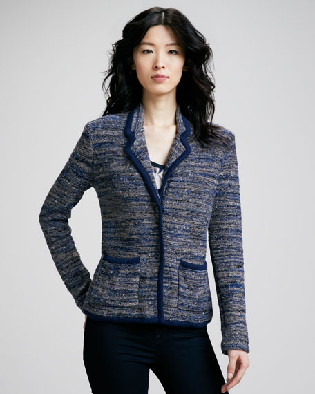 Suze Tweed Sweater