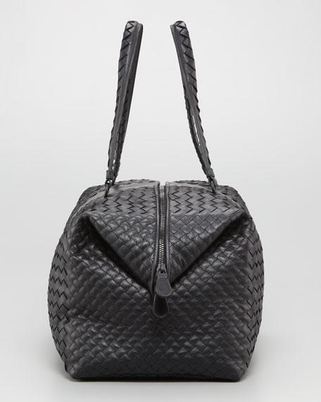 Double-Handle Woven Tote Bag