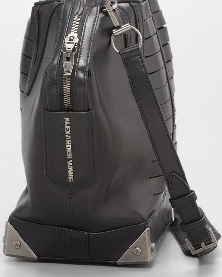Emile Satchel Bag, Black
