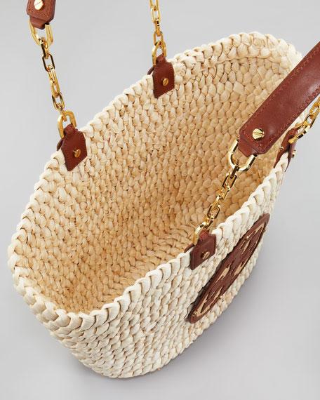 Audrey Straw Tote Bag