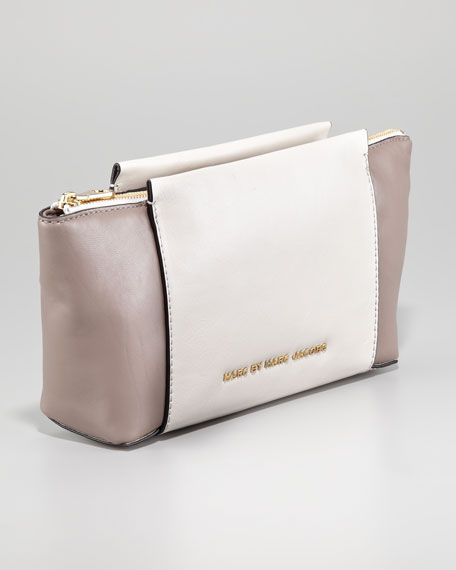 Burg Boxer Colorblock Clutch Bag