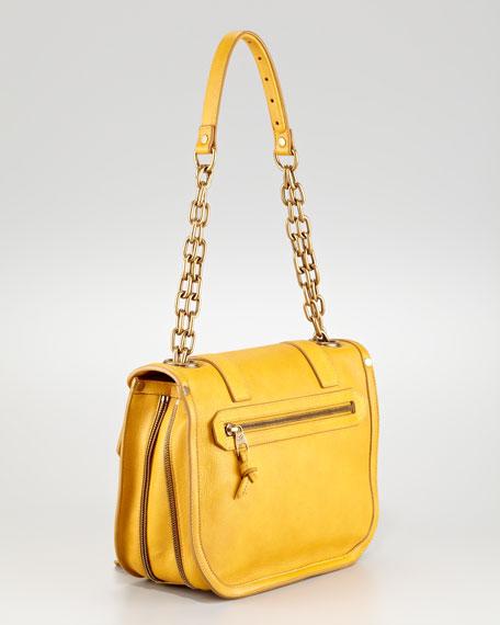 PS1 Leather Mini Messenger Bag