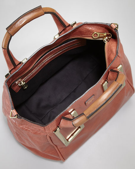 Ethel Zip-Top Tote Bag, Medium