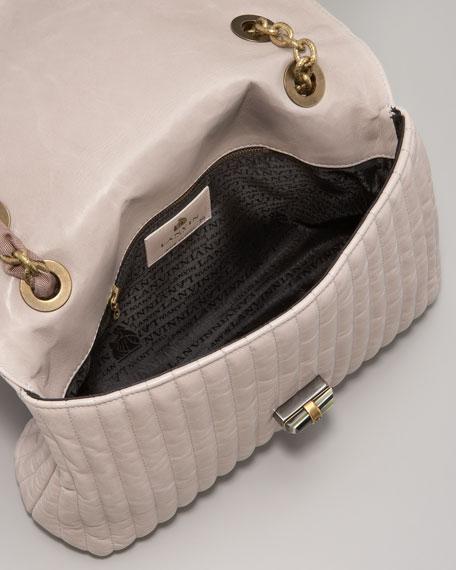 Happy Crinkled Shoulder Bag, Medium