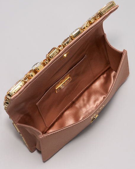 Jeweled Clutch Bag