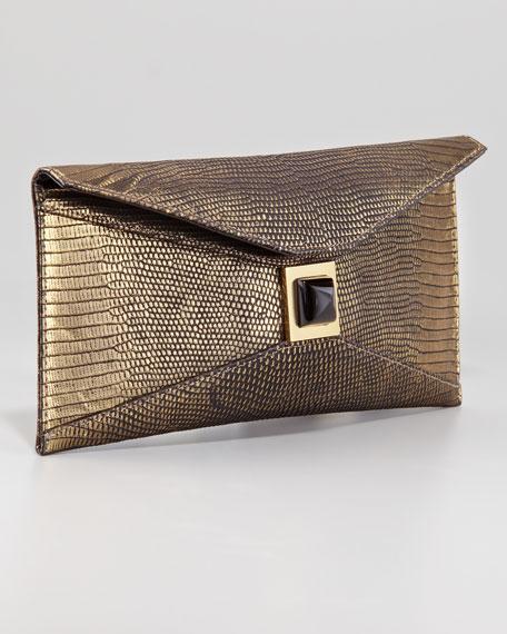 Stretch Prunella Clutch Bag