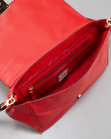Harper Flap Satchel Bag