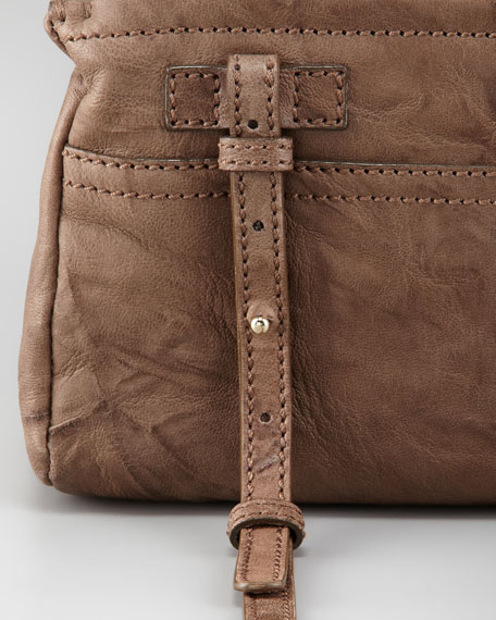 Pandora Mini Crossbody Bag, Pepe Leather