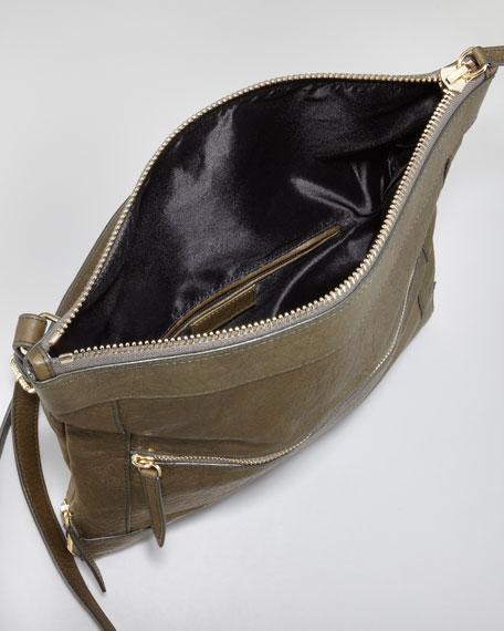 Fold-Over Messenger Bag