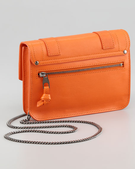 PS1 Large Chain Wallet, Orange