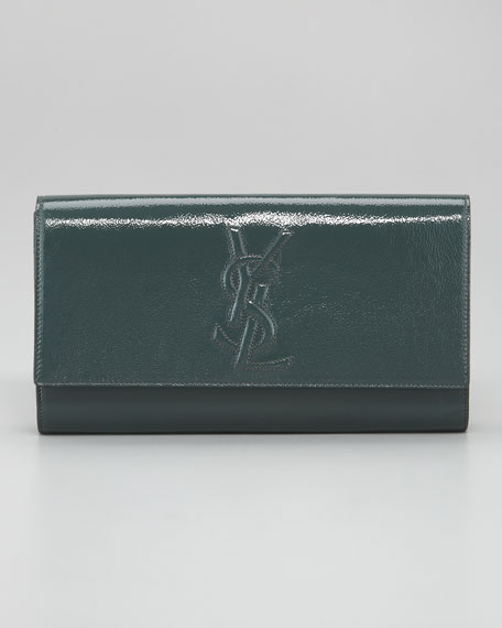 Belle De Jour Patent Clutch Bag