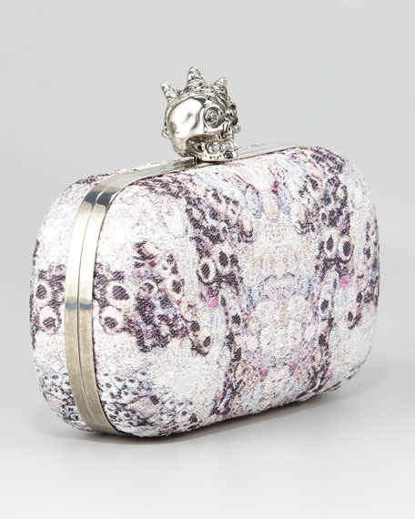 Barnacle Jacquard Box Clutch Bag
