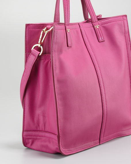 Violet Small Tote Bag, Party Fuchsia
