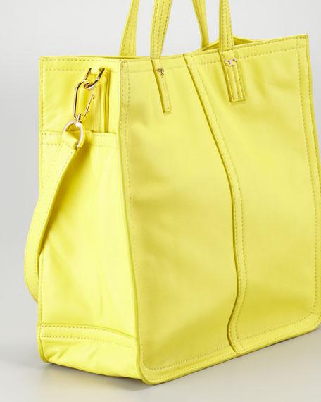 Violet Small Tote Bag, Citrus