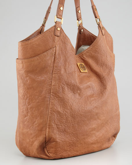 Louisa Slouchy Tote Bag, Original Tan