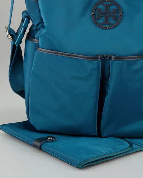 Stacked Logo Billy Baby Bag, Winter Teal